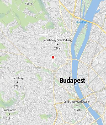 Térkép / Marczibányi téri jégpálya, Budapest