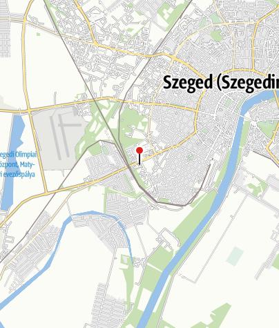 Térkép / Szeged - Városi Műjégpálya