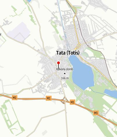 Térkép / Tatai Városkapu Jégsátor