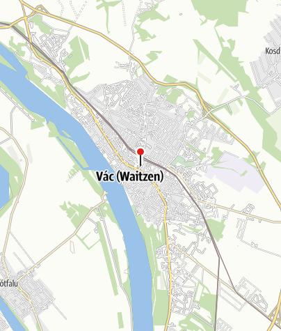 Térkép / Váci Royal Jégpálya