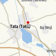 Karte / Englischer Garten in Tata