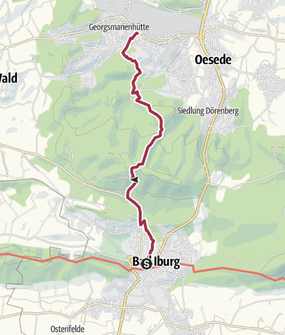 Karte / TERRA.track: Von Park zu Park