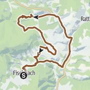 Karte / Fischbacher Alpen Tour