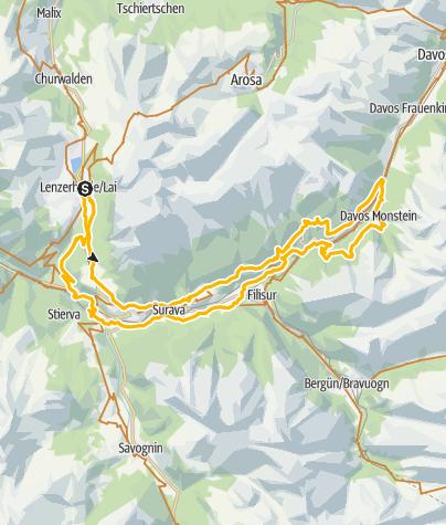 Map / GPS Marcos Singletrailtour