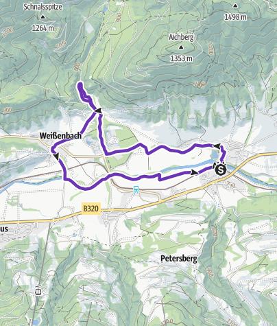 Karte / Aich Trail