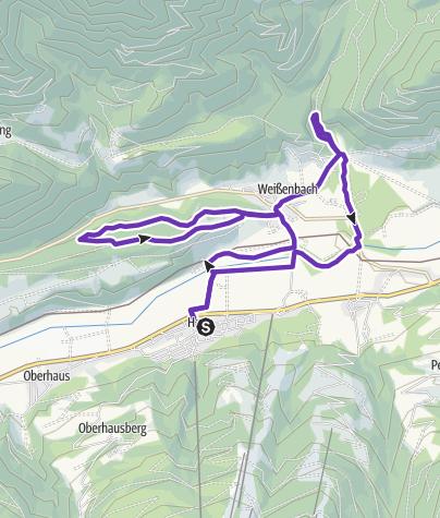 Karte / Kneippanlagen Trail