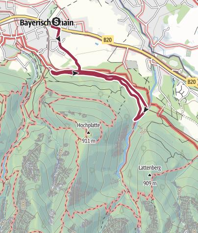 Map / Maisrundweg in Bayerisch Gmain
