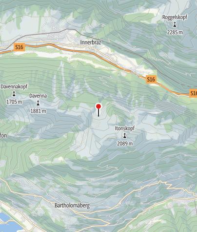 Karte / Alpe Latons