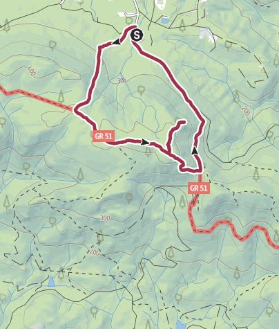 Map / The Millstone Path