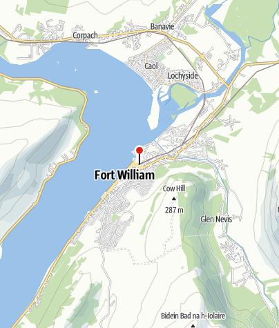 Loch Ness Karte.Great Glen Way Loch Ness Organisierte Wanderung Outdooractive Com