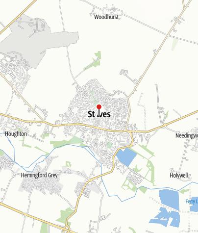 Karte / Cornwall: Wilde Westküste St. Ives - Penzance