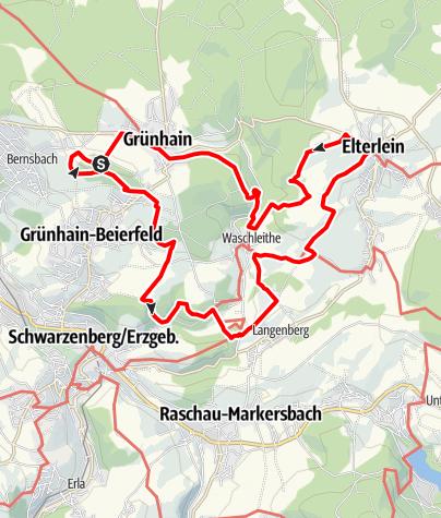 Karte / Oswaldtalweg