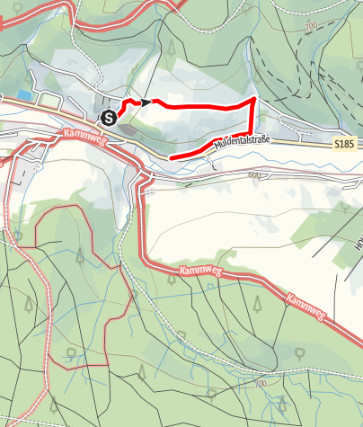 Karte / Rechenberger Kräuterpfad