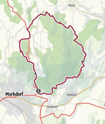 """Karte / Bodensee LandGänge """"GuckinsLand"""""""