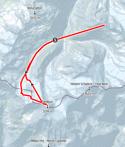 Map / Similaun