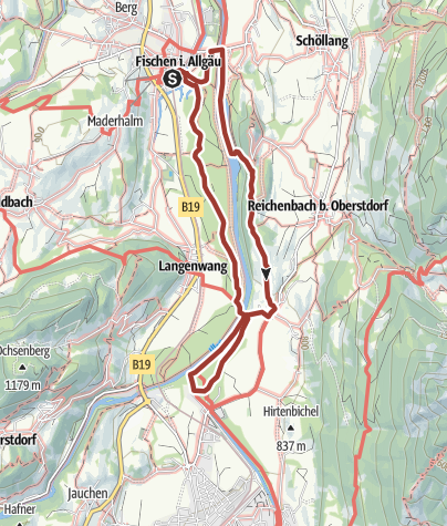Map / Wasserwege - dem Ursprung entgegen