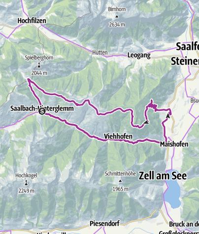 Map / E-BIKE ÖRGENBAUERNALM TOUR