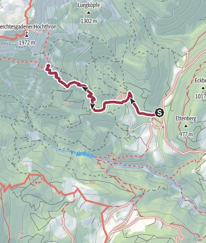 Karte / Vom Rossboden zum Scheibenkaser