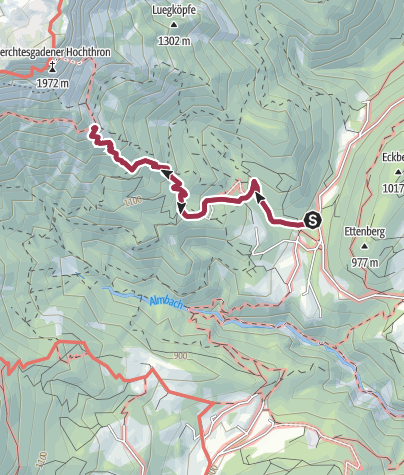 Map / Vom Rossboden zum Scheibenkaser