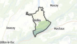 Mapa / Vieilley