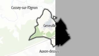 Térkép / Geneuille