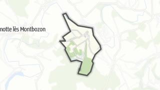 Mapa / Flagey-Rigney