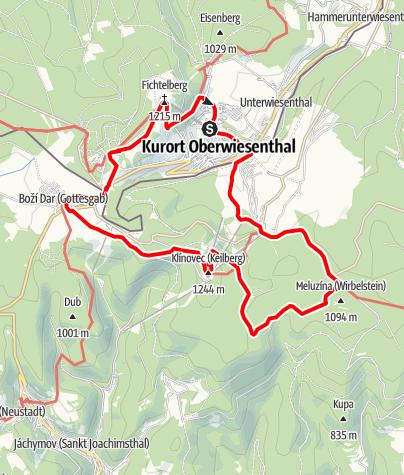Karte / Sylke-Otto-Tour