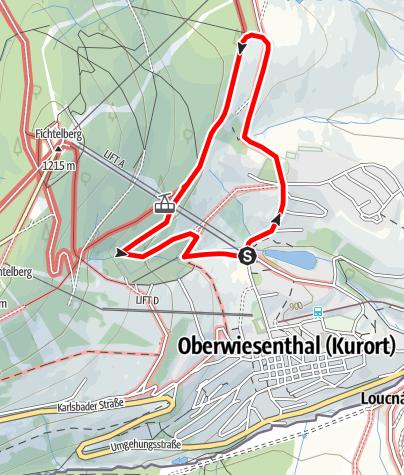 Karte / Eric-Frenzel-Tour