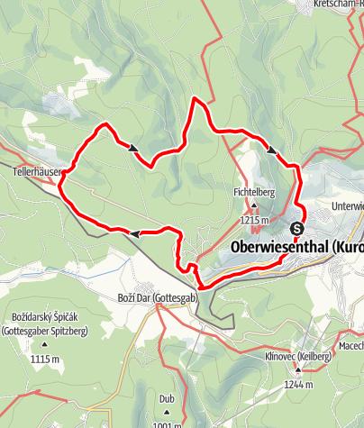 Karte / Ulrich-Wehling-Tour