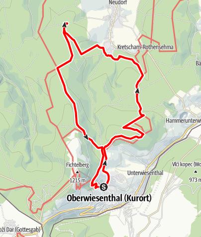 Karte / Viola-Bauer-Tour