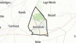 Hartă / Arendonk