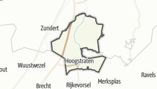 Hartă / Hoogstraten