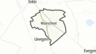Kartta / Waarschoot