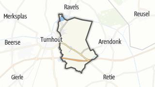 Hartă / Oud-Turnhout