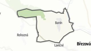 Cartina / Banín