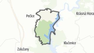 Karte / Bohostice