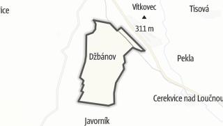 Hartă / Džbánov