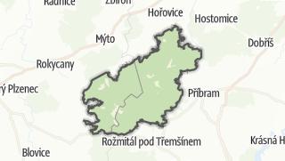 מפה / Brdy