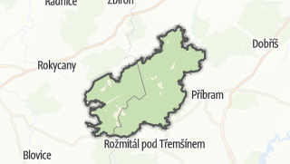 Karte / Brdy