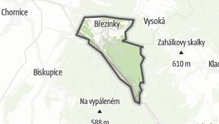 Mapa / Březinky
