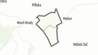 Cartina / Chotovice