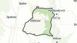Mapa / Dětřichov
