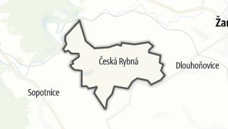 Hartă / Česká Rybná