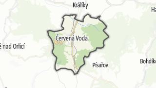 מפה / Cervená Voda