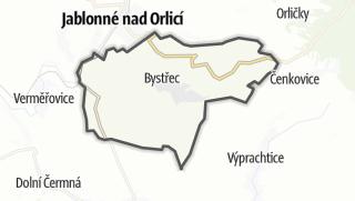 Karte / Bystřec