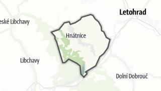Hartă / Hnátnice