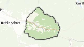 Karte / Horní Bečva