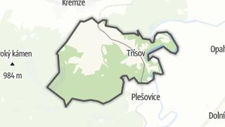 Karte / Holubov