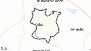 מפה / Dříteč