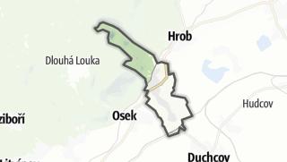 地图 / Háj u Duchcova